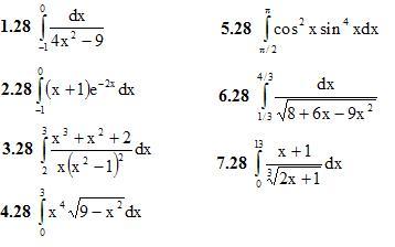 Вариант 28 ИДЗ 9.1 7 задач